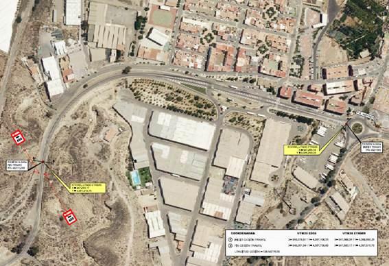 Fomento cede al Ayuntamiento de Benahadux cede tramo N-340a
