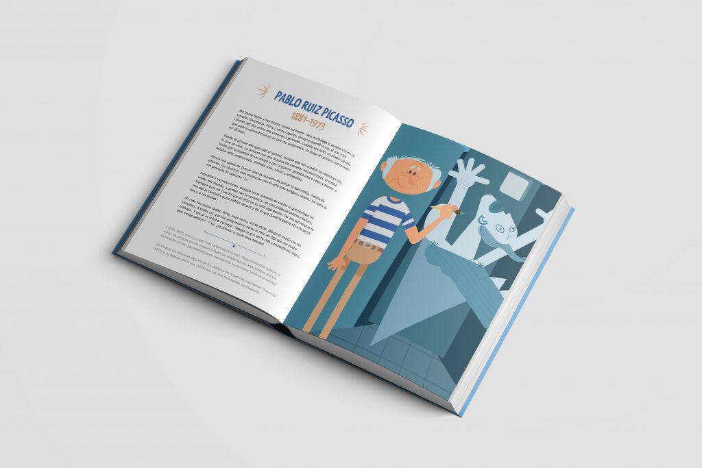 libro ilustrado para niños: Pablo Ruiz Picasso
