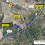 Iniciada la construcción de las glorietas en la autovía A-49 que servirán de acceso al CHARE de Lepe