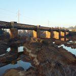 ¿Conoces el antiguo puente del ferrocarril de Niebla?