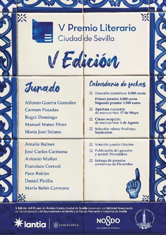 Premio Relatos Cortos Ciudad Sevilla